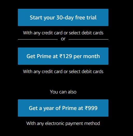 Amazon Prime Free Trial Trick 2020 To Get 30 Days Free Access Unlimited Time Daily Deals