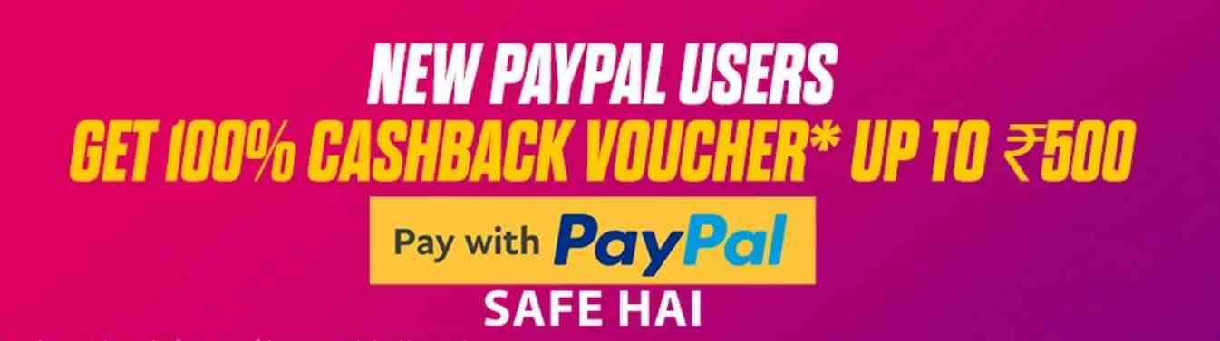 Paypal new user offer 2020