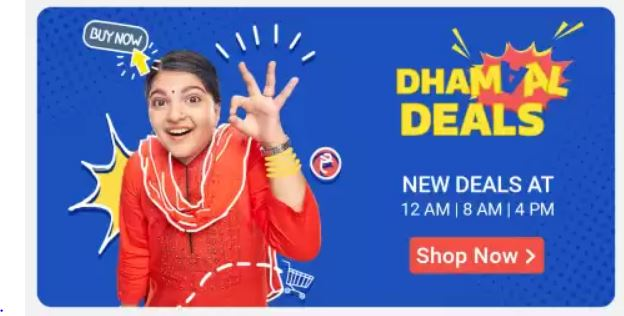 flipkart big shopping days dhamal deals