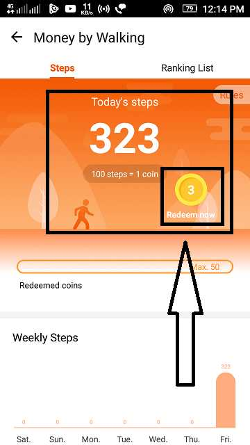 Walk to earn coins