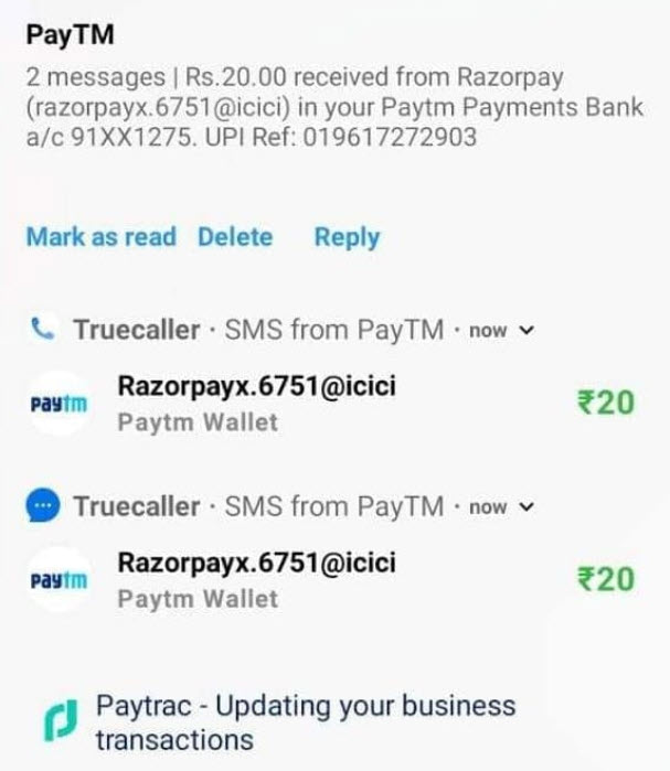 Paytrac app earning proof