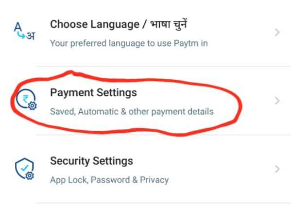 how to unlink paytm account