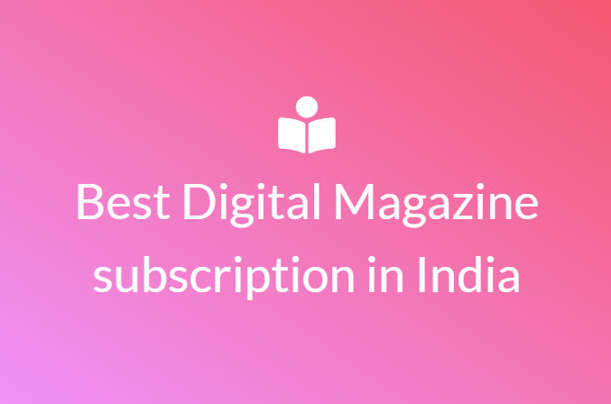 best digital magazine subscription
