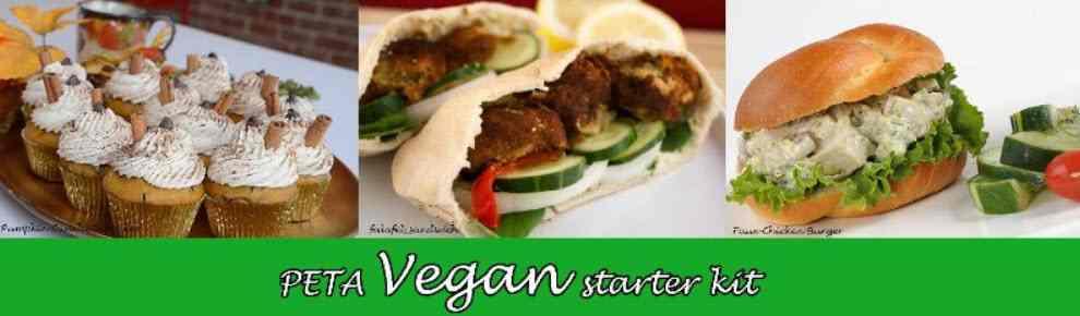 peta vegan starter kit sample